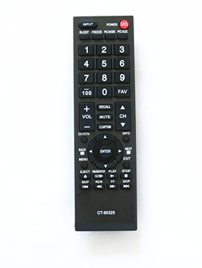 amazon com general remote replacement control fit for toshiba rh amazon com Troubleshooting Toshiba 32C120U Toshiba 32 Inch TV Review