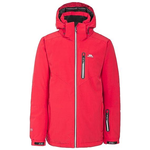 2412fe9e2 Trespass Mens Duall Waterproof Ski Jacket: Amazon.co.uk: Clothing