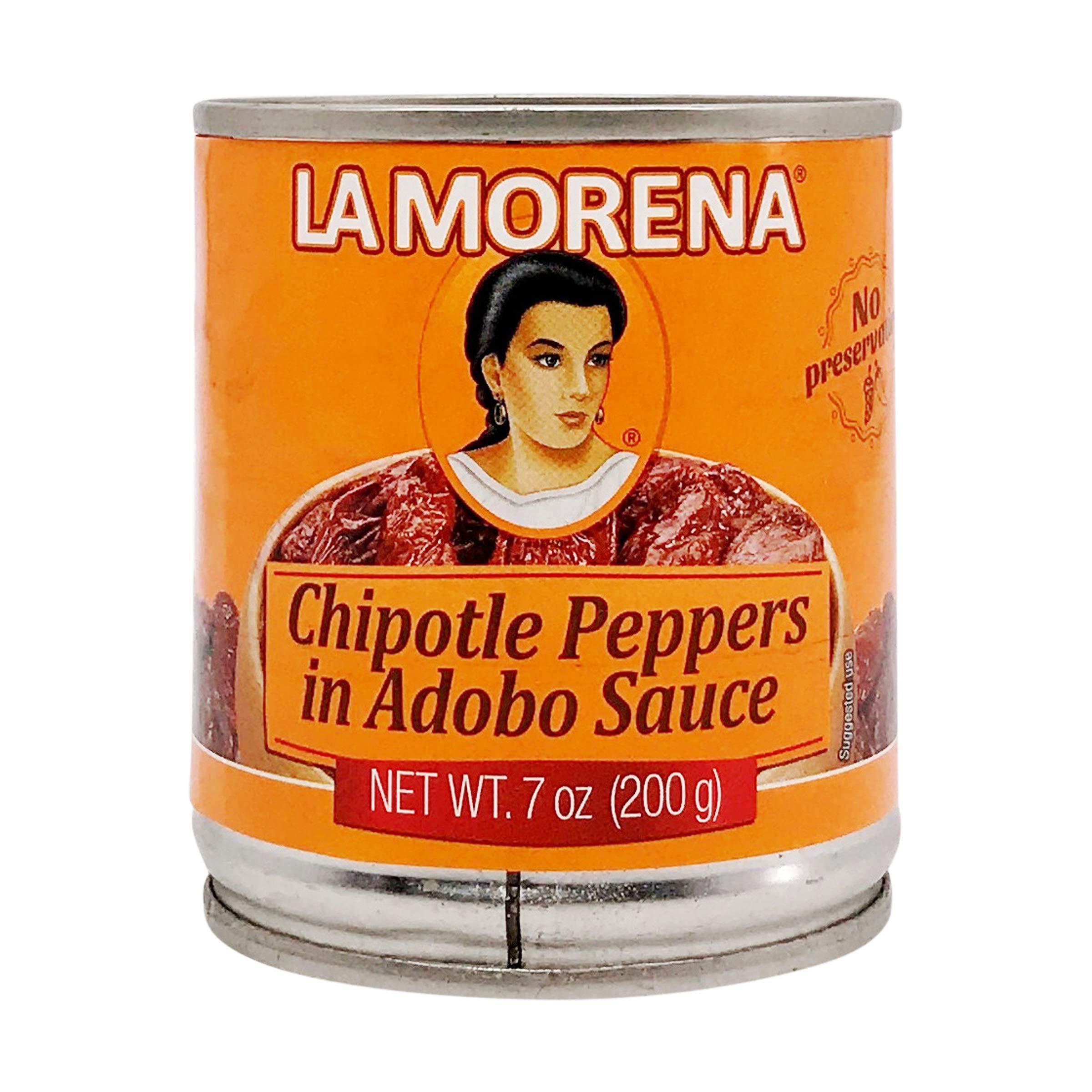 La Morena Chipotle In Adobo, 7 oz