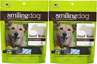 product image for BEEF LIVER DRY ROASTED DOG TREAT SOURCED AND MADE IN USA HEALTHY NATURAL 6 OUNCES