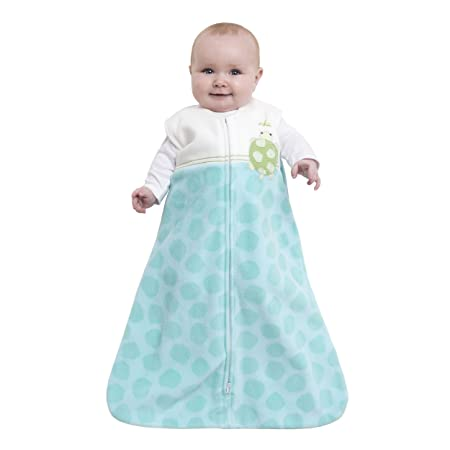 Amazon.com : HALO SleepSack Micro Fleece Wearable Blanket, Green, Medium (Discontinued by Manufacturer) : Nursery Blankets : Baby