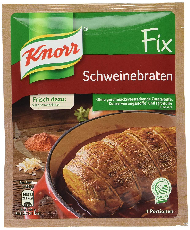 Knorr Fix for Schweinebraten Roast Pork 41g | Pack of 4