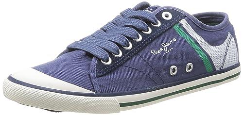 Pepe Jeans London Tenis Print, Zapatillas para Hombre: Amazon.es: Zapatos y complementos