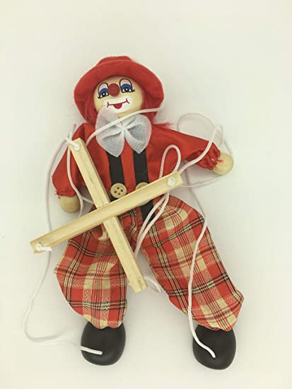 Amazon com: Sparik Enjoy Clown Hand Marionette Puppet