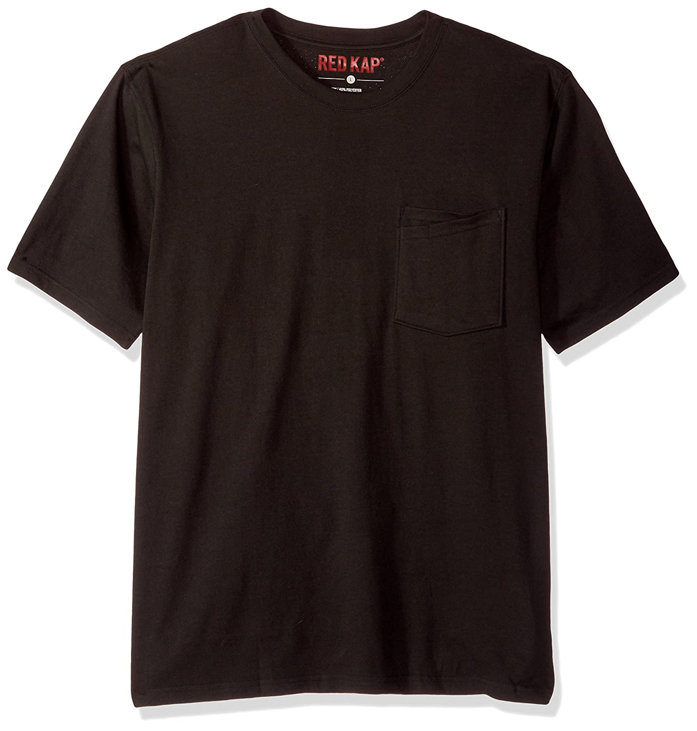 Red Kap mens Solid Color T-shirt Red Kap Men' s Apparel RT30