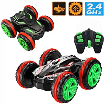 Amazon Com Cr Amphibious Stunt Remote Control Off Road