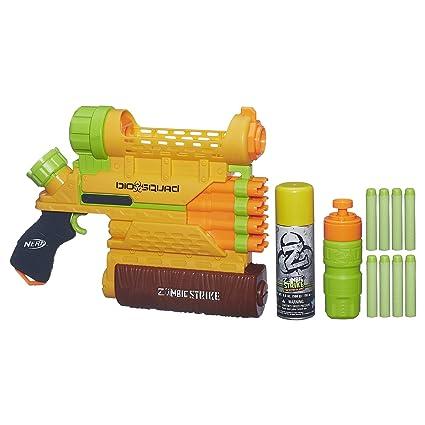 Nerf Zombie Strike Biosquad Zombie Repellent Can Spielzeug für draußen