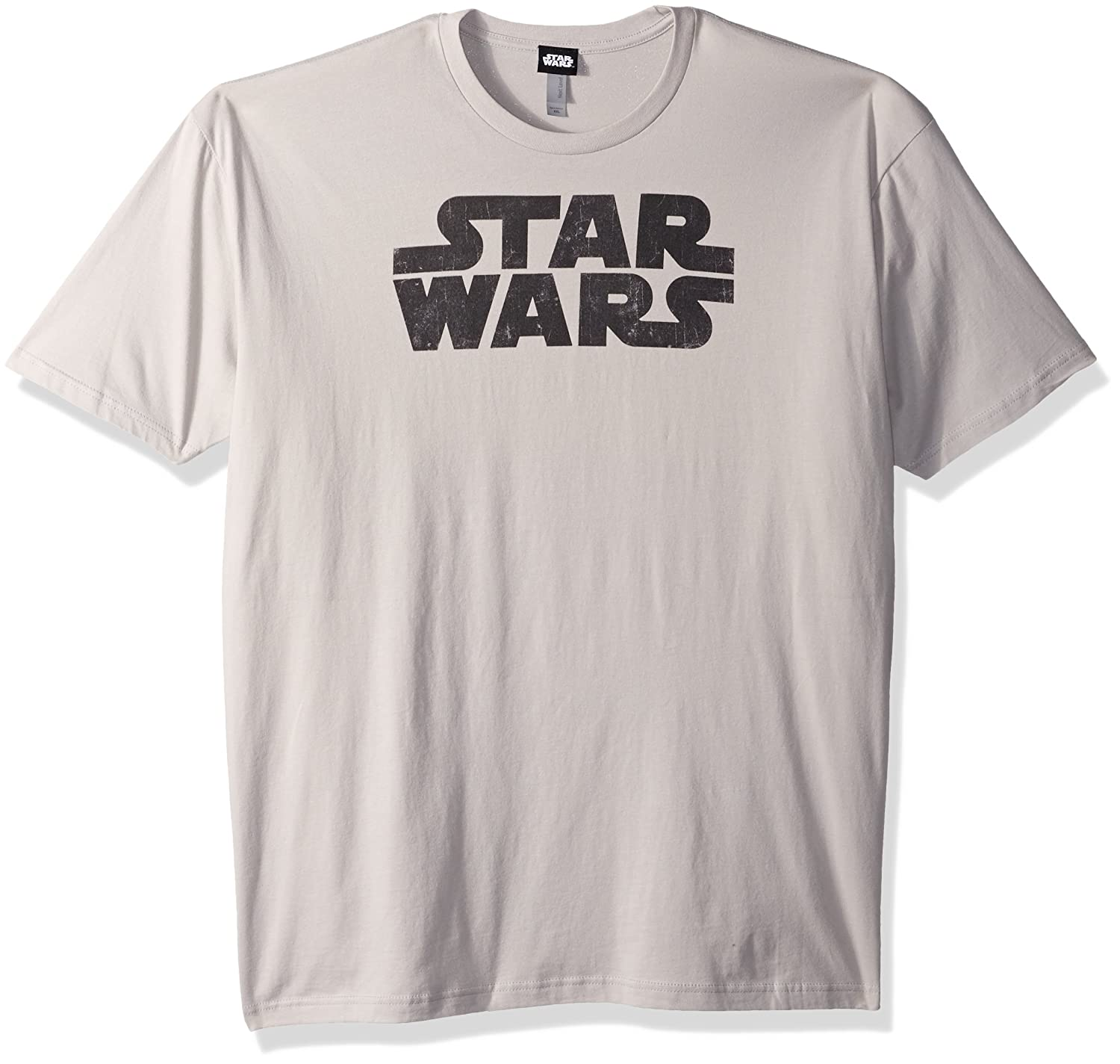 Star Wars Mens Simplest Logo T Shirt Clothing Tendencies Tshirt Monday To Long Navy Xxl