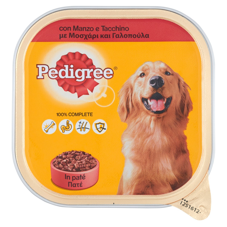 PEDIGREE 300 gr. umido patè di manzo/tacchino - Aliments pour chiens 101910