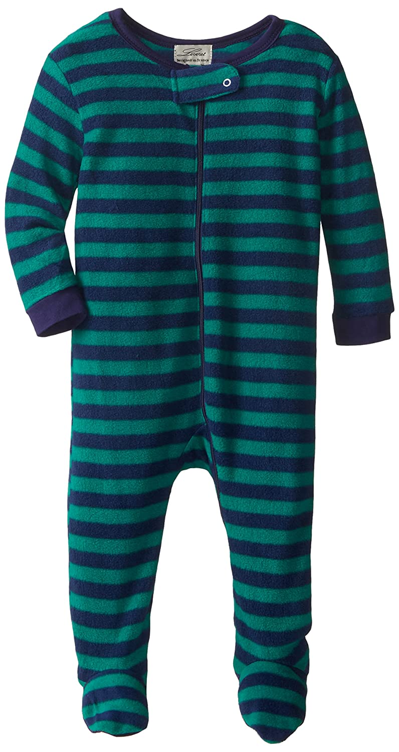 Leveret Fleece Baby Boys Girls Footed Pajamas Sleeper Kids & Toddler Pajamas (3 Months-5 Toddler)