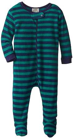 f1d1520e9 Amazon.com  Leveret Fleece Baby Boys Girls Footed Pajamas Sleeper ...