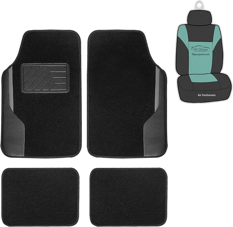 Coverking Custom Fit Front Floor Mats for Select Toyota Tercel Models Nylon Carpet Black