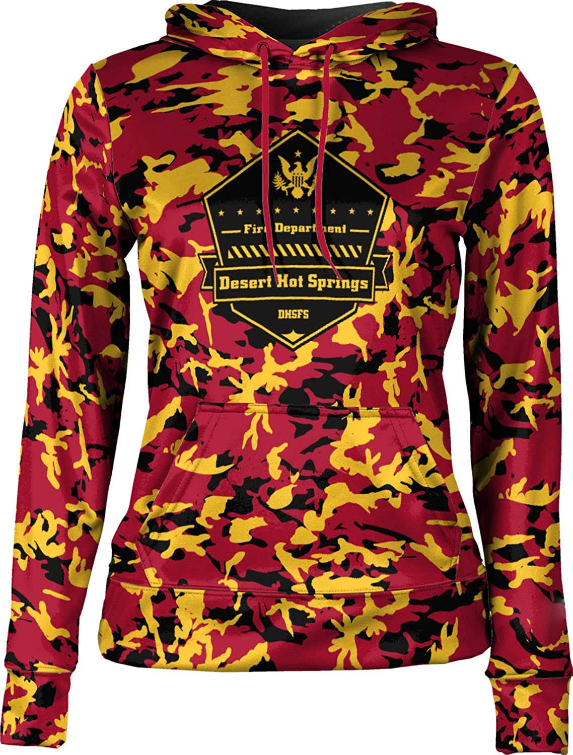 ProSphere Girls' Desert Hot Springs Fire Service Fire Department Camo Hoodie Sweatshirt