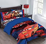 Disney Cars Nitroade Twin Bedding Comforter Set & Amazon.com: Delta Children Cars Lightning Mcqueen Twin Bed with ...