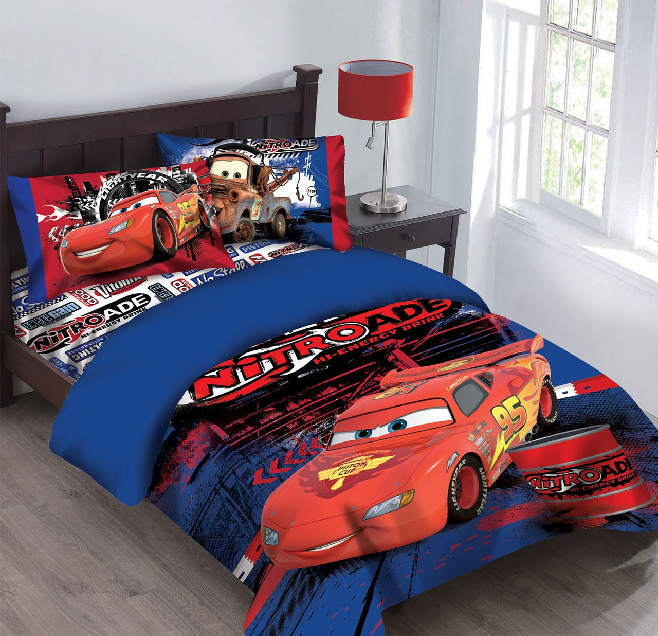 size cars amazon disney home dp com full comforter set kitchen bedding nitroade yvehkfl