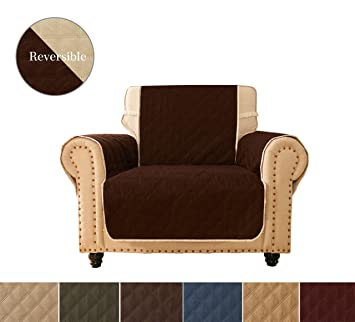 Terrific Ameritex Chair Cover Sofa Slipcovers For Pets Children Water Resistant Will Keep Your Couch Stain Dirt Scratches Free Ultrasonic Oblique Grid Creativecarmelina Interior Chair Design Creativecarmelinacom