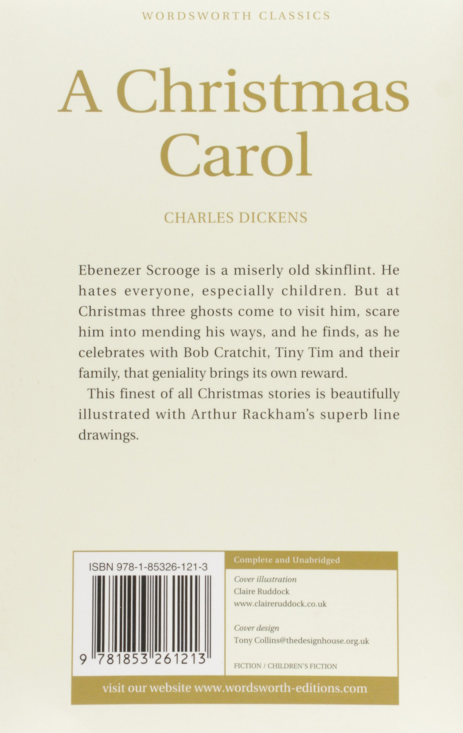 A Christmas Carol (Children\'s Classics): Amazon.co.uk: Charles ...