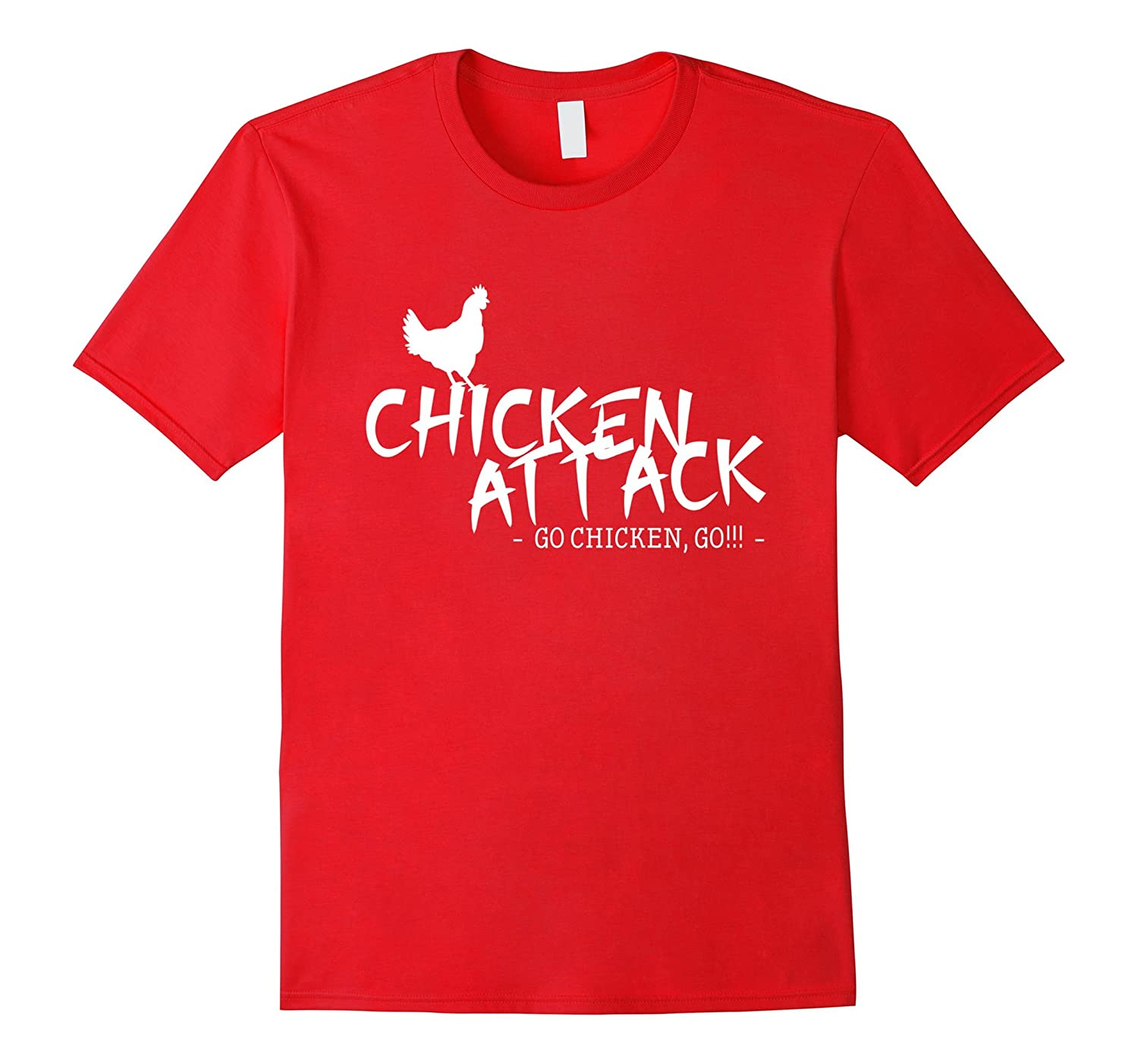 Chicken Attack T Shirt - Go Chicken Go-CD