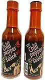 Trader Joes Chili Pepper Sauce, 2 Bottles, 5 Ounces Each