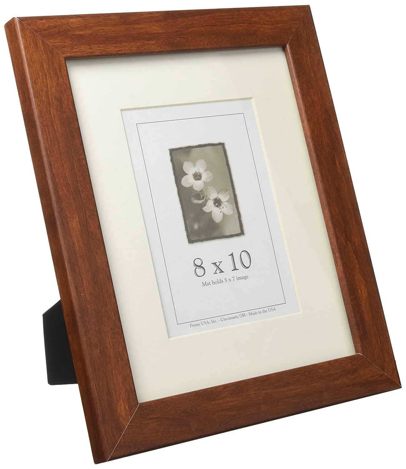Amazon.com - 8x10 Wood Picture Frame (Black) - Made in the USA ...