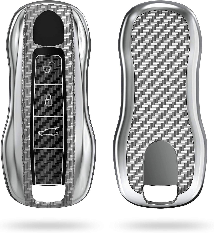 Kwmobile Autoschlüssel Hülle Kompatibel Mit Porsche Elektronik