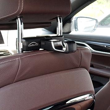 Roadbutler Universalhaken Transporthaken Für Kopfstützen Premium Comfort Travel System Auto
