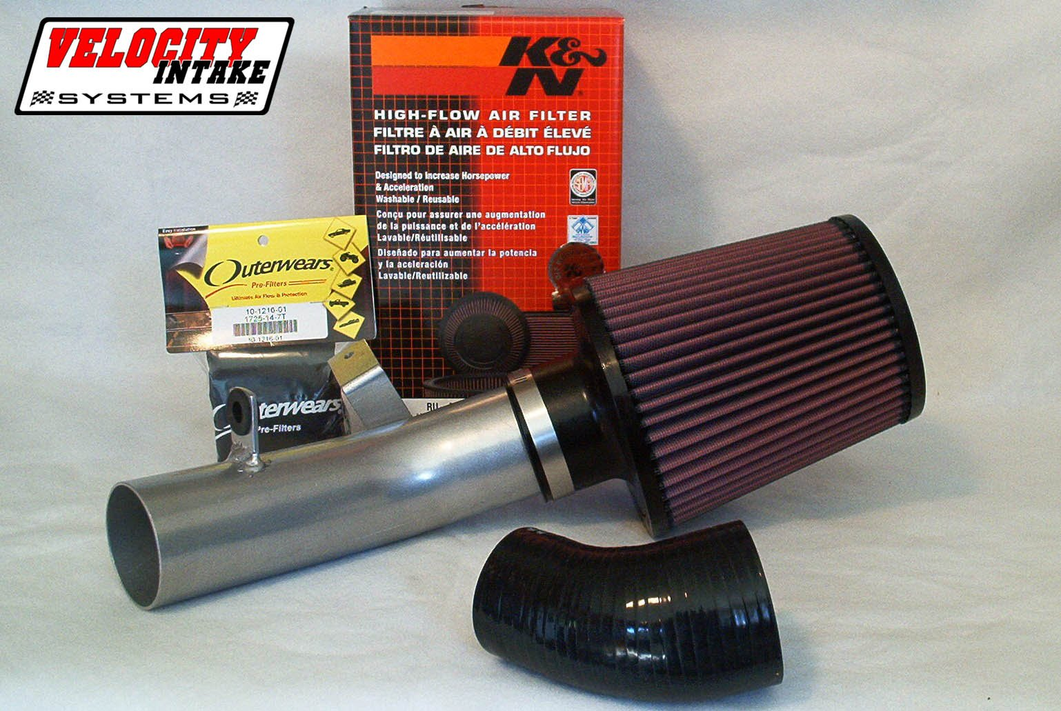 Malone Motorsports VelI-700r-1L Raptor 700 Velocity Intake System with Large K&N Filter by Velocity Intake Systems