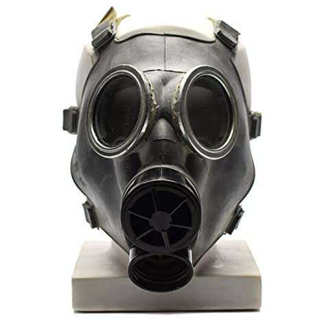 Soviet Russian GP-5 Cold War Gas Mask Filter Unused Military Stock