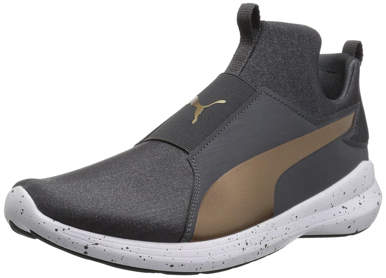 PUMA Women's Rebel Mid WNS Speckles Sneaker B07537GH6S 11 B(M) US|Asphalt-bronze