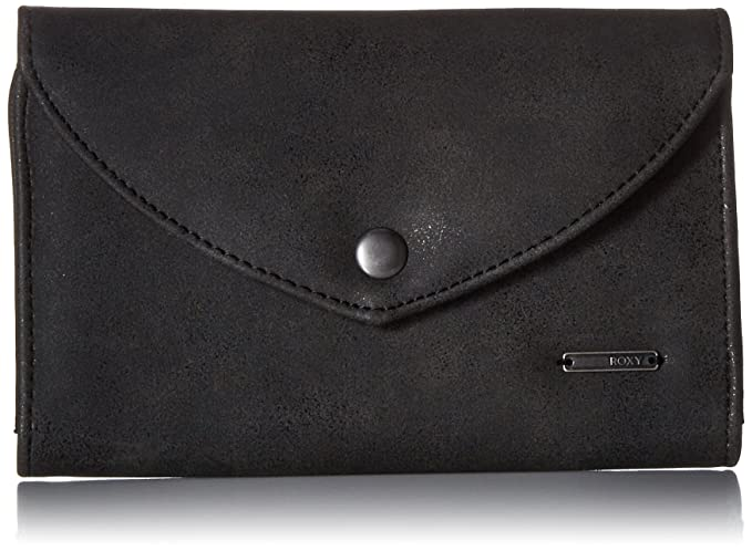 Amazon.com: Roxy Stop Here portafolios, negro, talla única ...