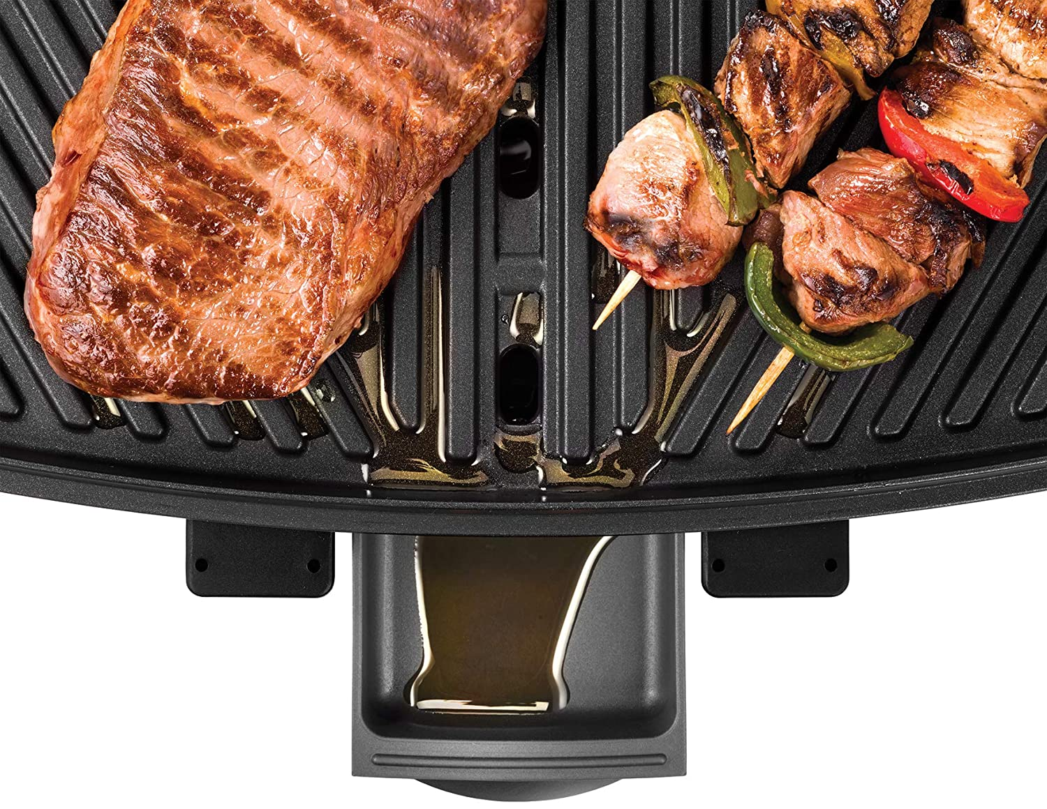 Unold Elektrogrill Test : Unold 58580 barbecue power grill elektrogrill 2000 w große