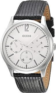 Analog Uhr Damen Armband Guess Mit W1070l3Amazon Quarz Edelstahl nkOw8PX0