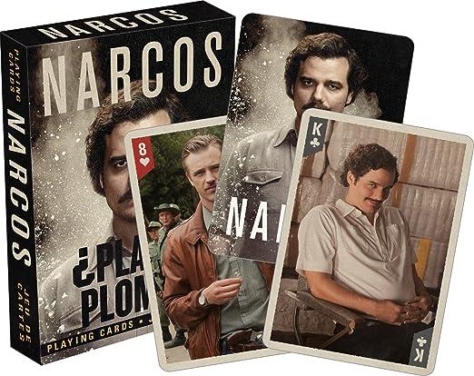AQUARIUS Narcos Juego de Cartas: Amazon.es: Juguetes y juegos