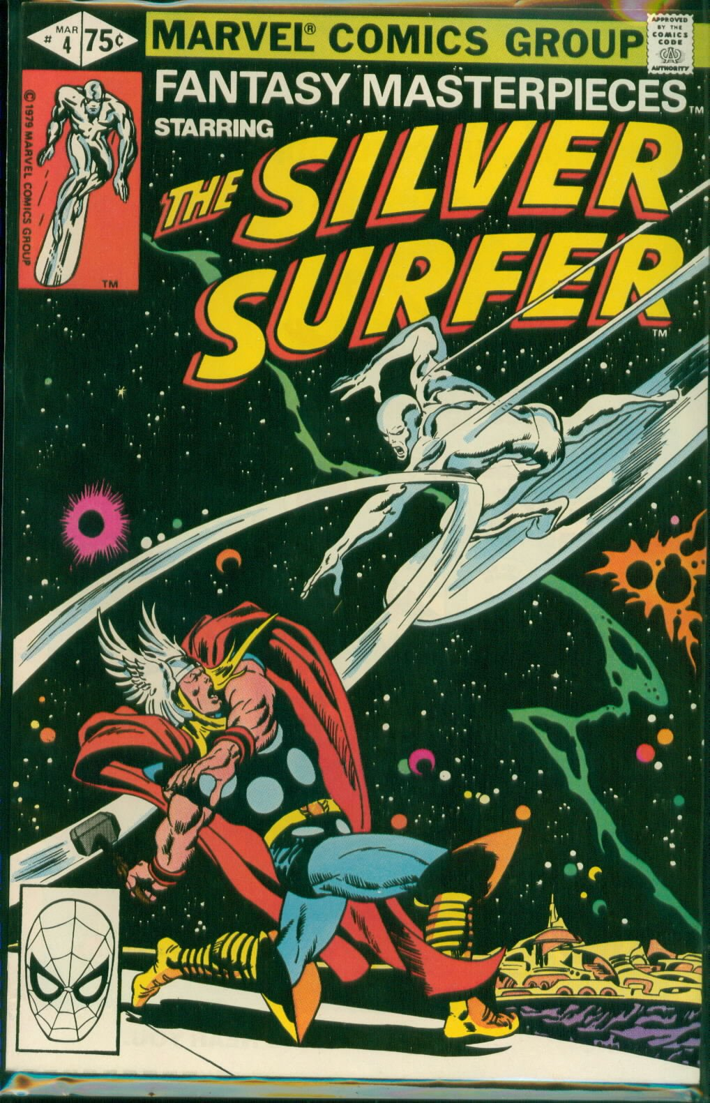 Fantasy Masterpieces The Silver Surfer 4 Buscema And Lee