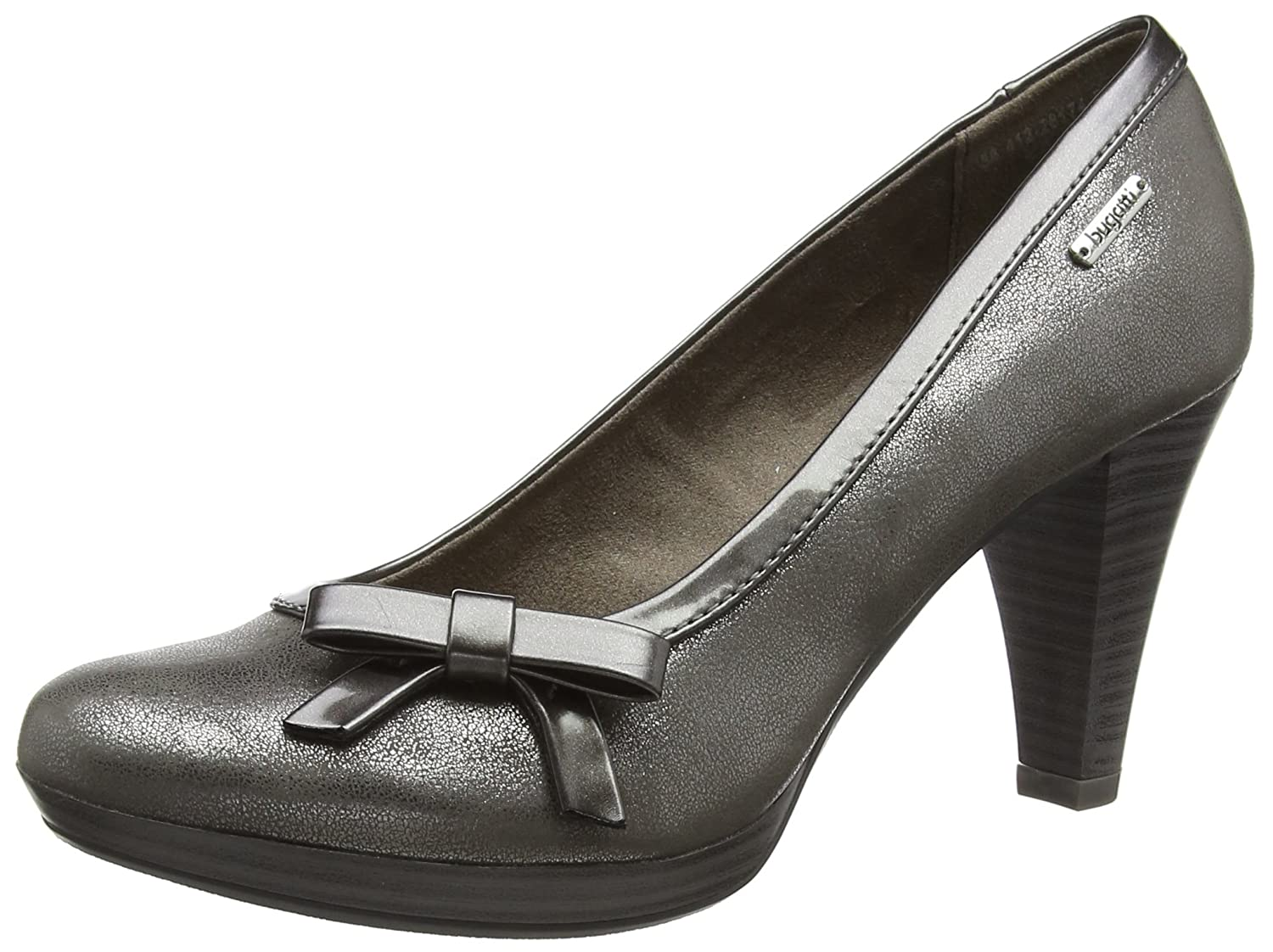 Buy Bugatti Women Taupe Metallics Pump 6 Uk 39 Eu 8 Us 412