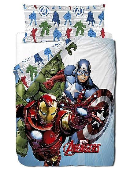 Marvel Avengers Trio   Funda nordica 3 piezas para cama de 90 cm