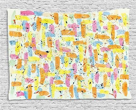 Abakuhaus Abstrait Décoration Murale Peinture Blobs Drips