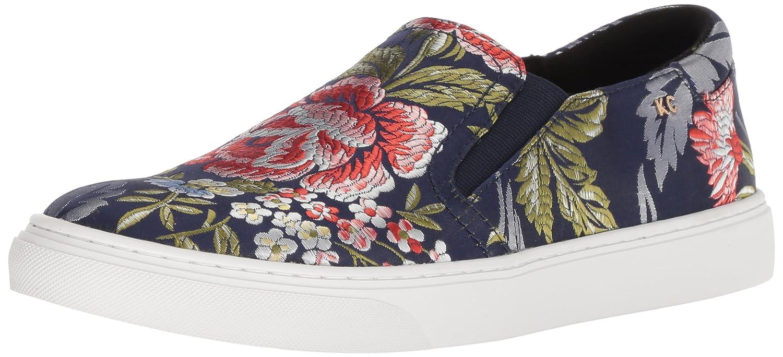 Kenneth Cole Mara, Zapatillas sin Cordones para Mujer 39 EU Azul (Navy Floral 431)