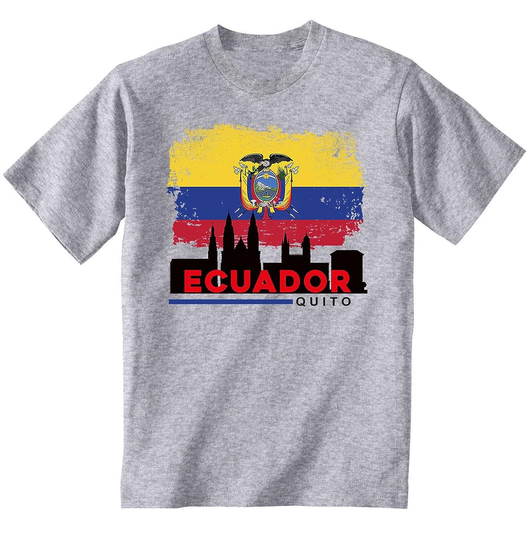 teesquare1st QUITO ECUADOR Camiseta Gris para hombre de ...