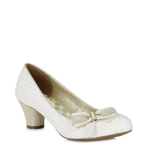 6b161bb7 Ruby Shoo Lily (Cream): Amazon.co.uk: Shoes & Bags