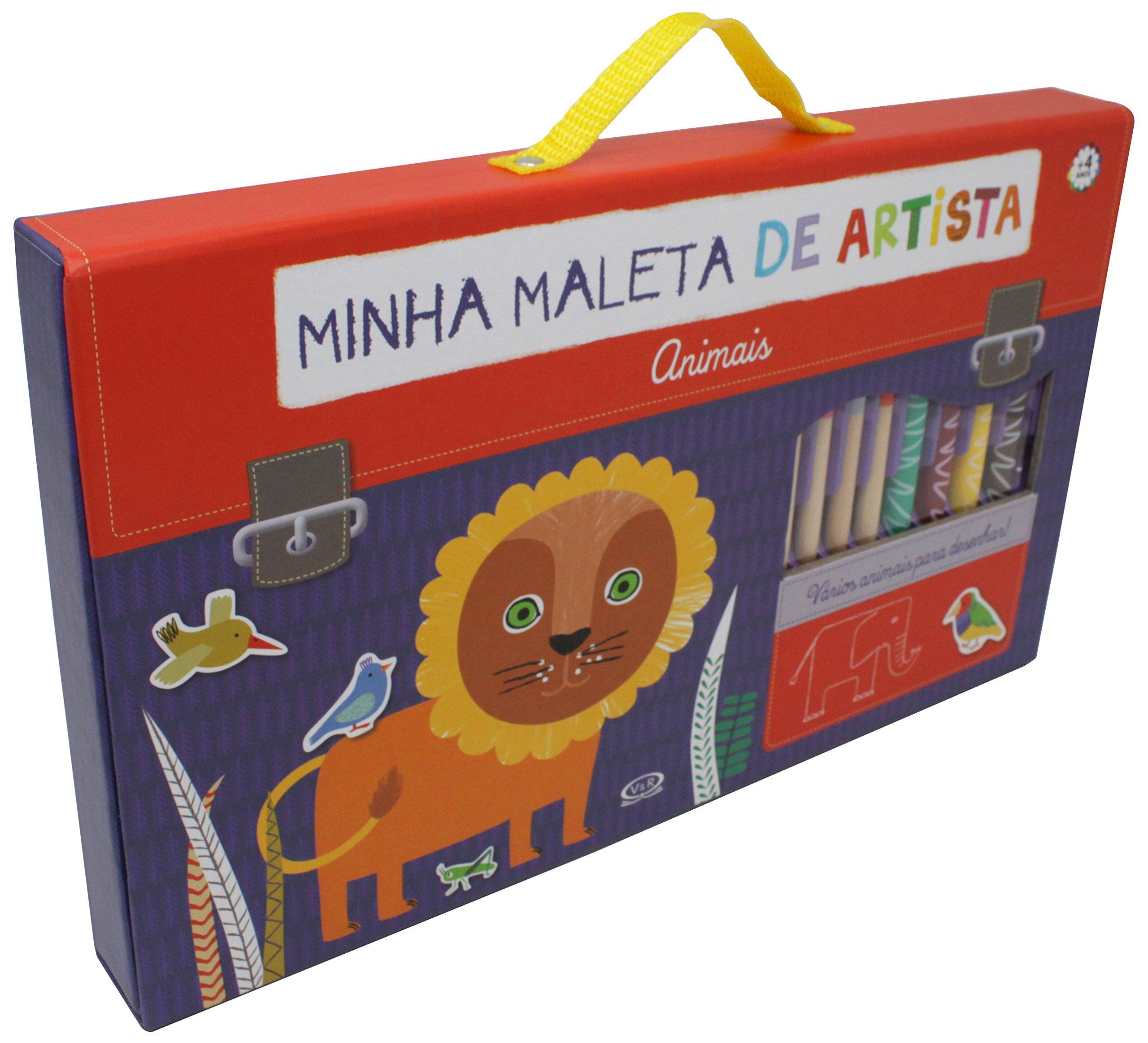 Minha Maleta de Artista. Animais (Em Portuguese do Brasil ...
