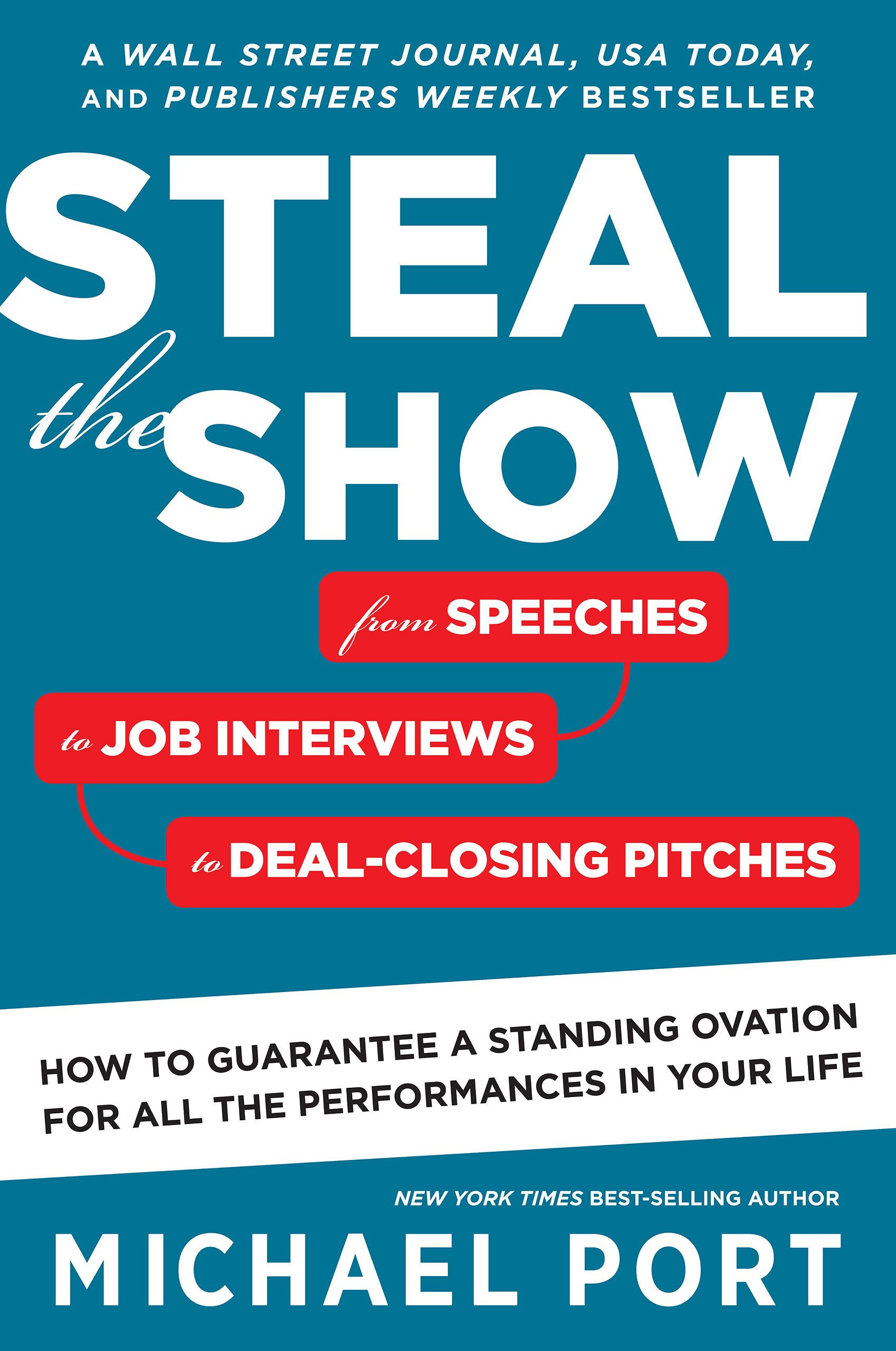 Steal The Show  From Speeches To Job Interviews To Deal Closing Pitches How To Guarantee A Standing Ovation For All The Performances In Your Life  English Edition