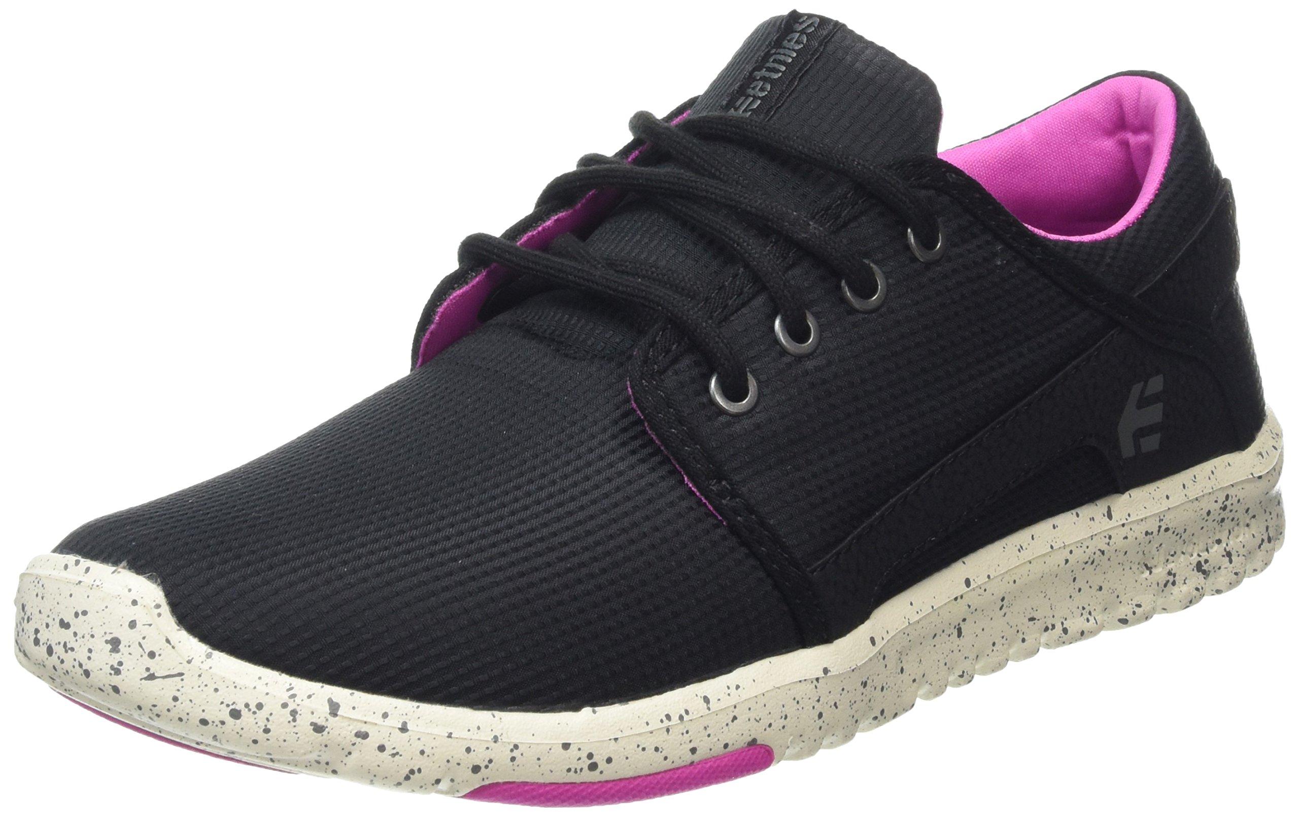 Etnies Women's Scout W's Skateboarding Shoe, Black/Pink, 5 M US by Etnies