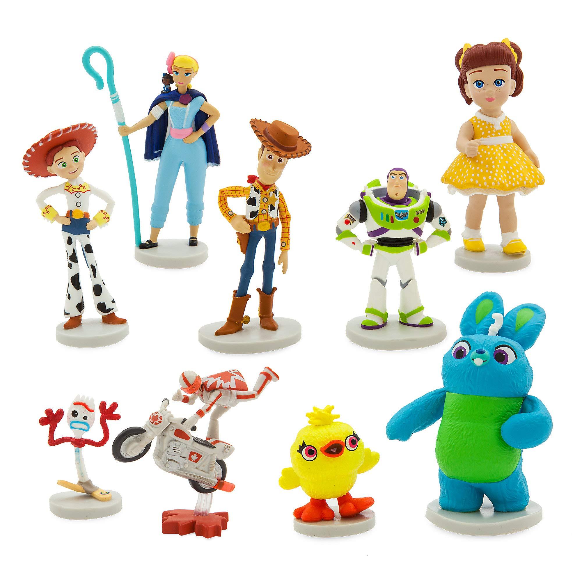 ویکالا · خرید  اصل اورجینال · خرید از آمازون · Disney Pixar Toy Story 4 Deluxe Figure Set wekala · ویکالا