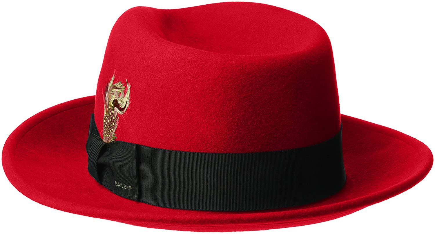 14e5124e3d005 Bailey of Hollywood Men s Fedora Hat at Amazon Men s Clothing store