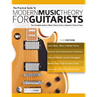 The Practical Guide to Modern Music Theory for Guitarists: The complete guide to music theory from a guitarist's point… book cover
