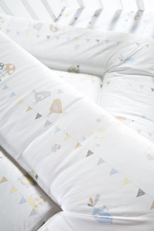 Baby Wickeltischauflage weich gepolstert Wickelunterlage 85x75cm aus phthalatfreier Folie roba Wickelauflage Little Stars