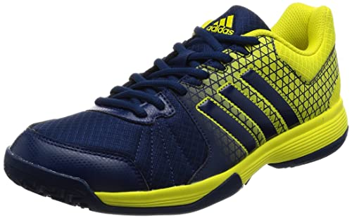 9eba08fb6 adidas Men's's Ligra 4 Volleyball Shoes, Mystery Blue/Bright Yellow, ...