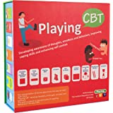 Playing CBT - therapy game to develop awareness of thoughts, emotions and behaviors for improving social skills, coping skills and enhancing self control.