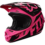 Fox Racing 2017 Race  Youth/Kids  V1 Motocross Motorcycle Helmet - Pink / Large